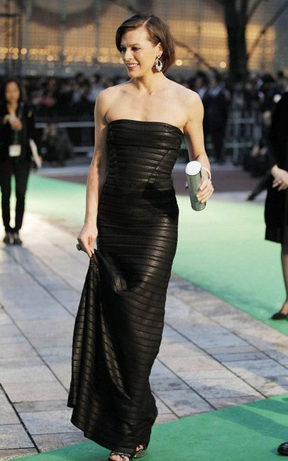 Milla Jovovich at the Tokyo Premiere of The Three Musketeers