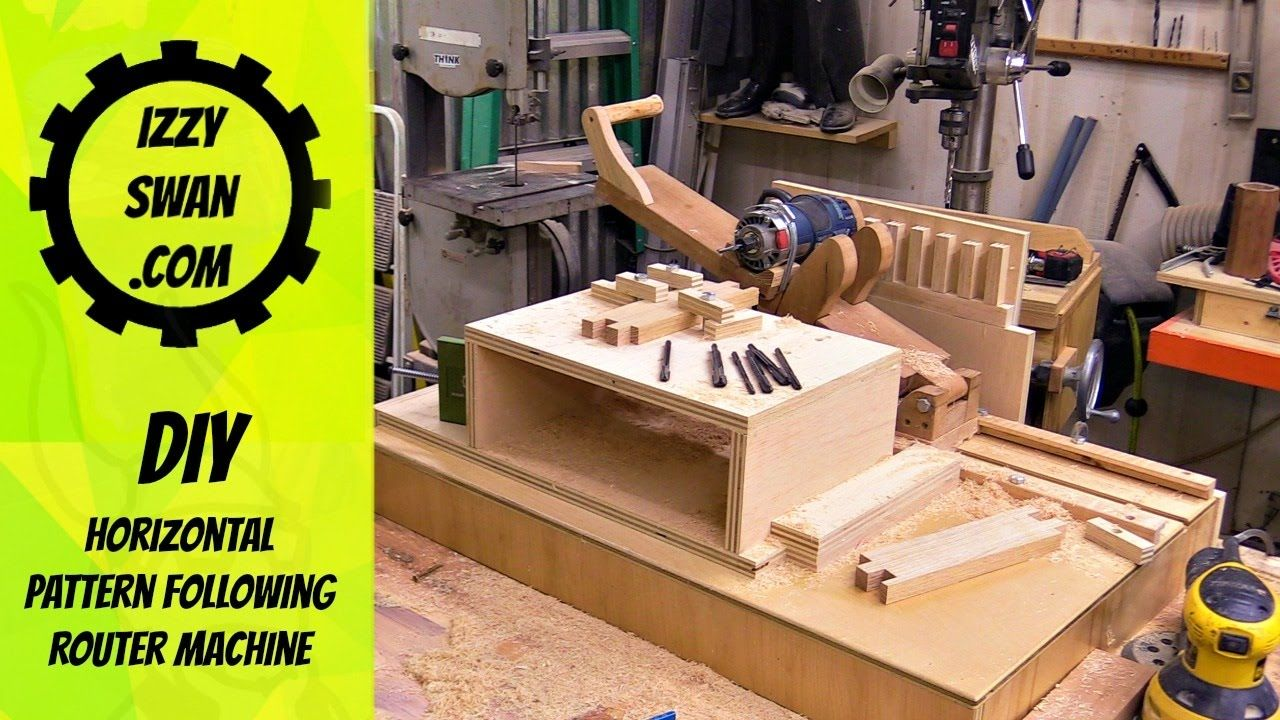A quick look at my diy router jig design that follows