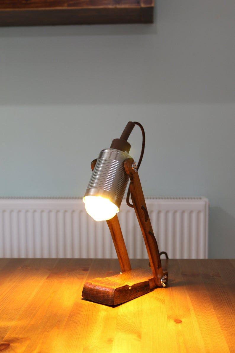 Zwei Arm Lampe Fass Lampe Schreibtisch Lampe Vintage Lampe Lesen