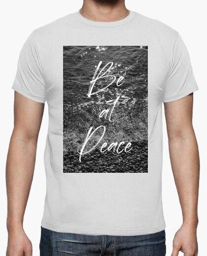 Camiseta con el mensaje Be at peace