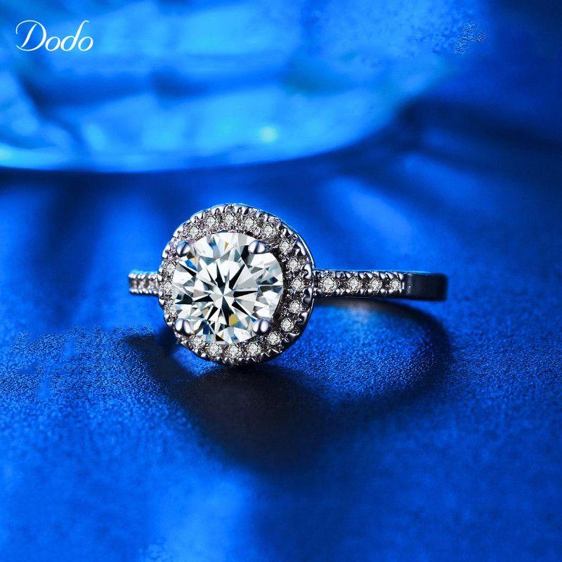 Anelli di Nozze di lusso Vintage Fidanzamento Bague 925 Sterling Silver Bijoux Accessori AAA Diamante DELLA CZ Dei Monili Per Le Donne Anel R38