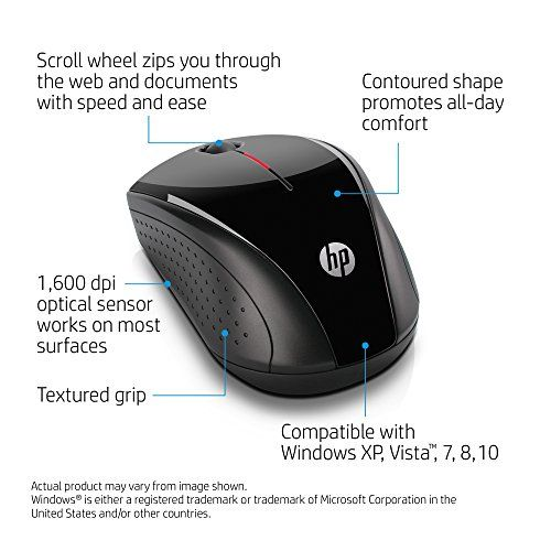 H2C22AA#ABL HP X3000 Wireless Mouse Black