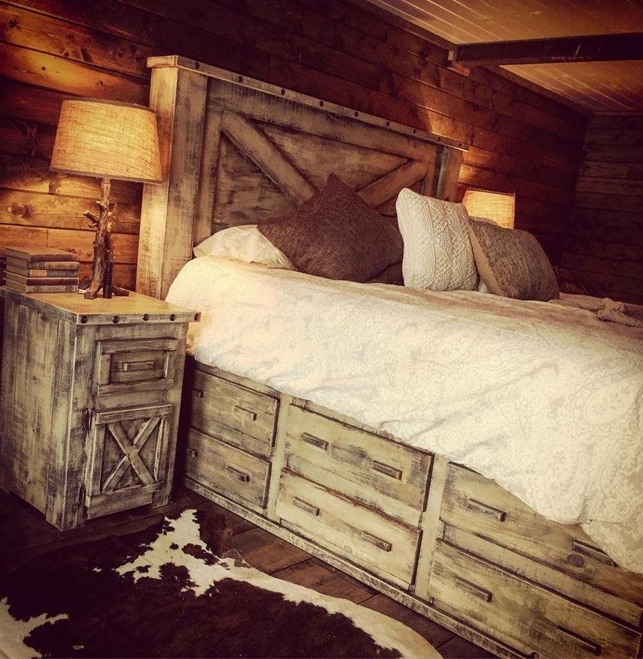 51 Awesome Rustic Bedroom Furniture Ideas to Get the Farmhouse Charm #rusticbedroomfurniture