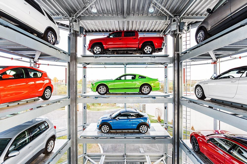 The First Car Vending Machine In Nashville Tennessee Photo