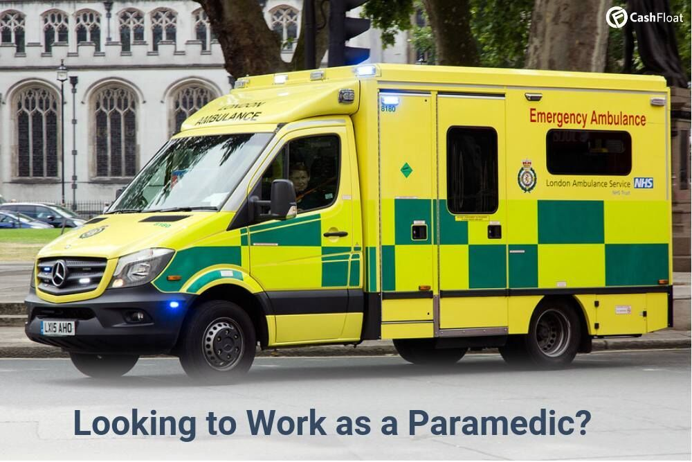 What is a Paramedic Salary in the UK Emergency ambulance