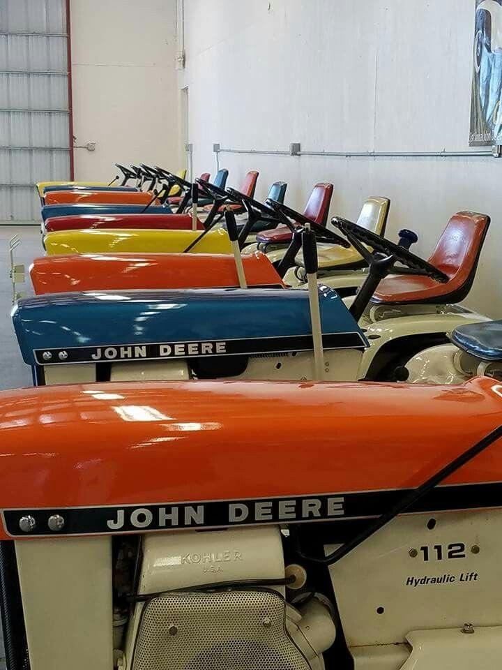 John Deere U0027Patiou0027 Lawn Tractors