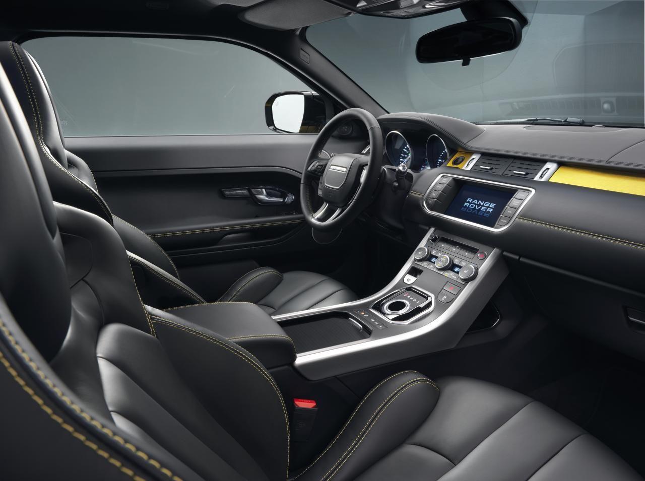 Katalog 2013 Land Rover Range Rover Evoque Sicilian Yellow Voiture Anglaise Voiture Semestre