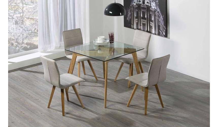 Juego de mesa y sillas merkamueble | Mesa y sillas, Mesas de ...