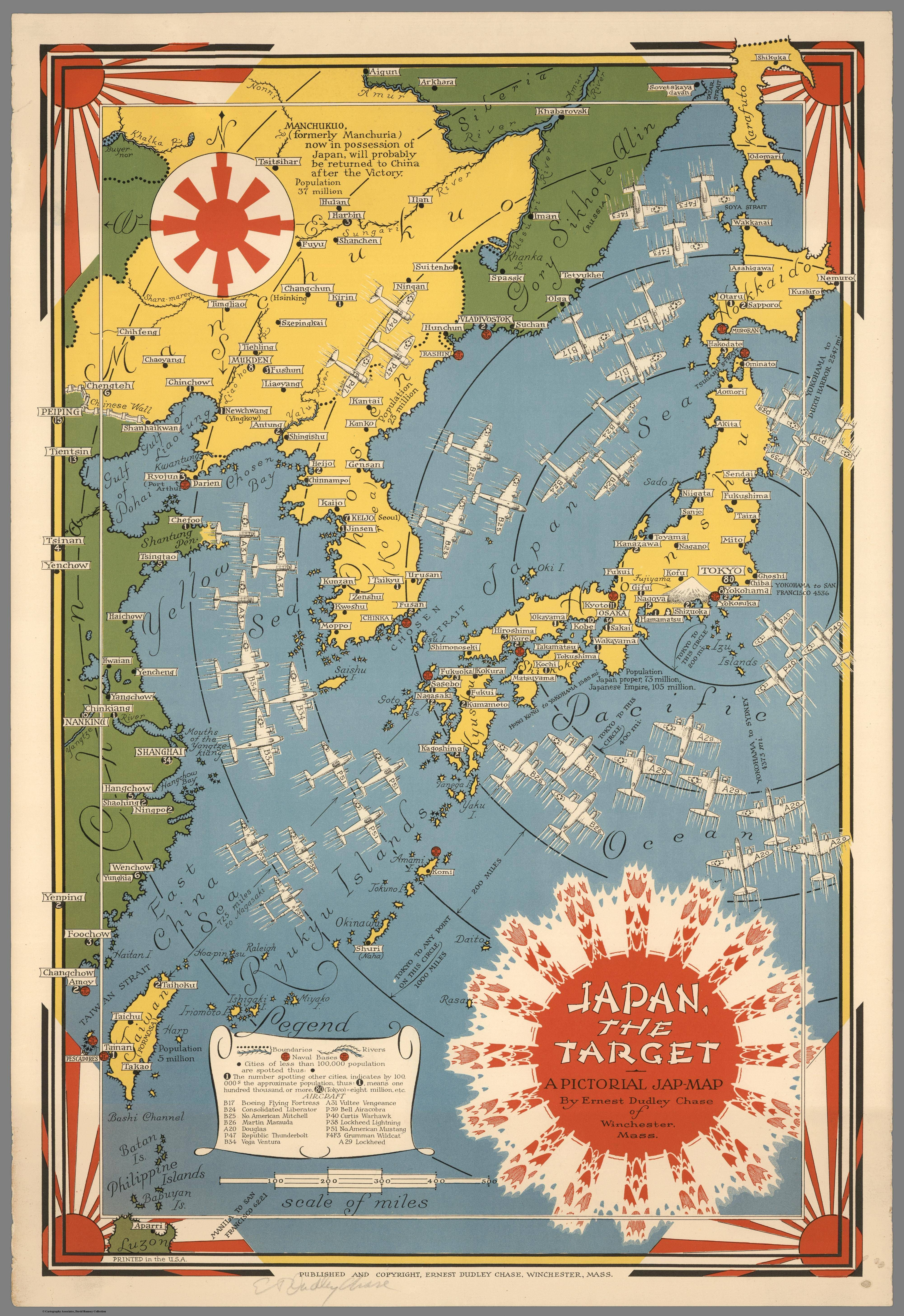 Japan the target a pictorial map made by ernest dudley chase japan the target a pictorial map made by ernest dudley chase 1942 gumiabroncs Gallery
