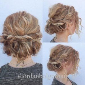 Updos For Short Curly Hair House Pinterest