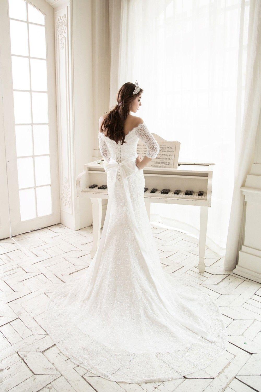 Maßgefertigtes Brautkleid \