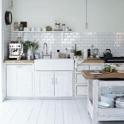 cocina salpicaderos cocina Pinterest Cocinas, Cocina blanca y
