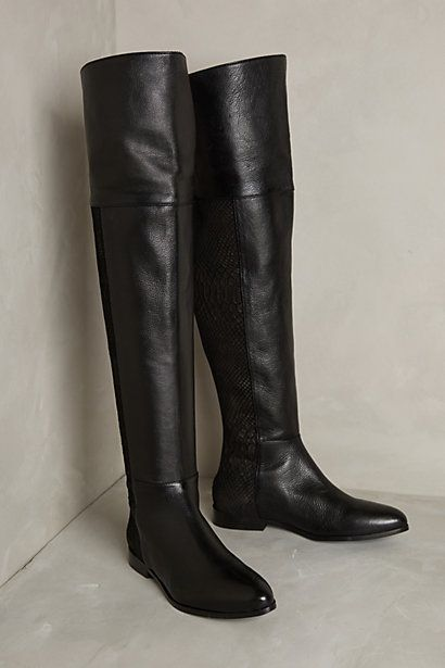 Scaled Riverboat Boots #anthrofave
