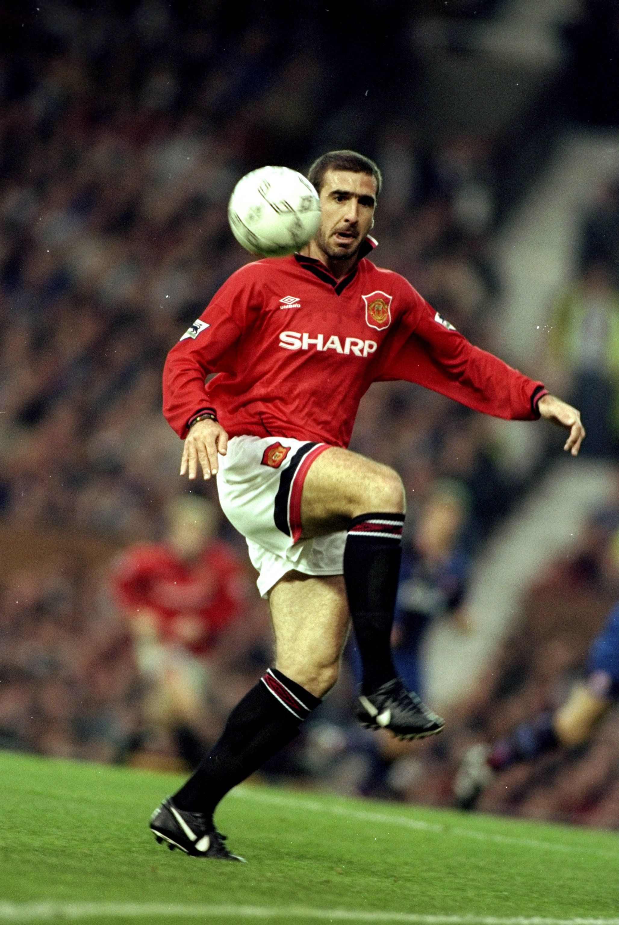 Eric Cantona Manchester United Player Of The Year 1995 96 Manchester United Legends Manchester United Players Manchester United Team