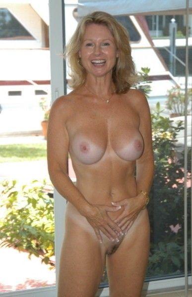 Naked blonde girl fucked hard tits gif