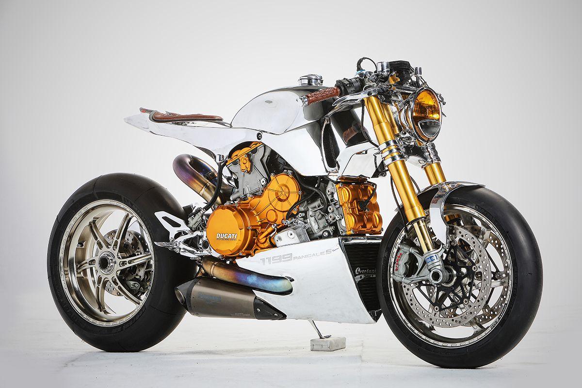 Polished Panigale – Ortolani Customs Ducati 1199S ~ via returnofthecaferacers.com
