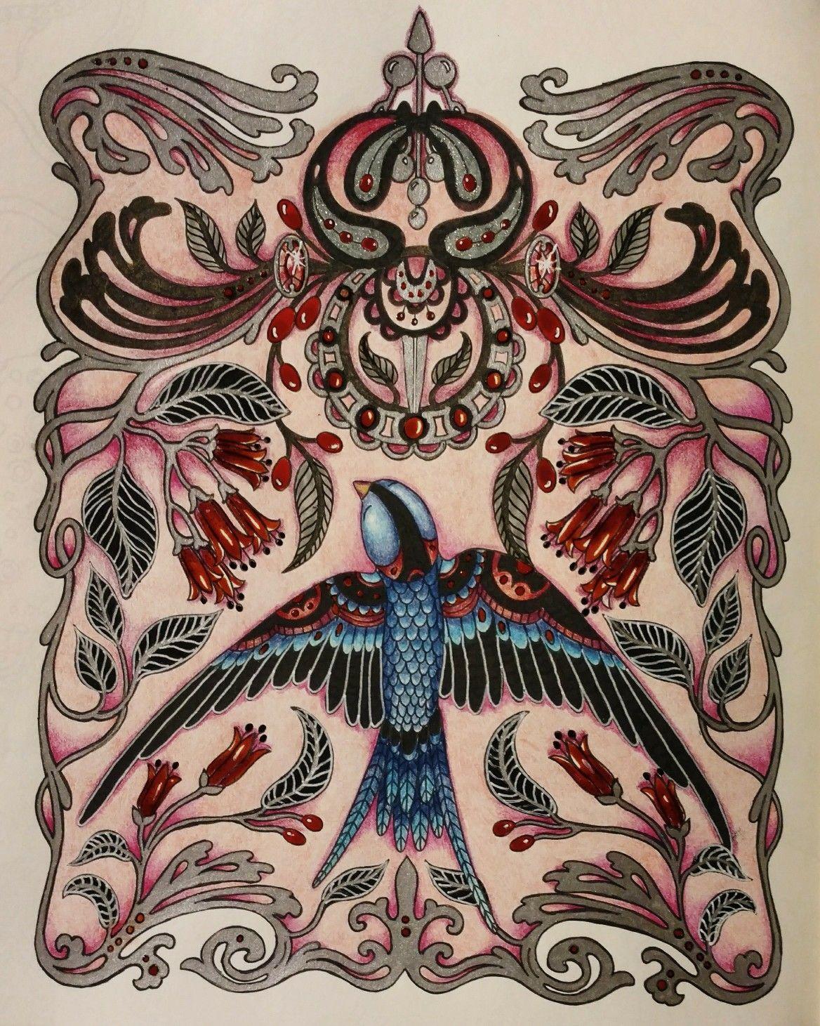 Daydreams Coloring Book Dagdrommar Hanna Karlzon By Wendy Kleurboek Kleuren Kleurplaten