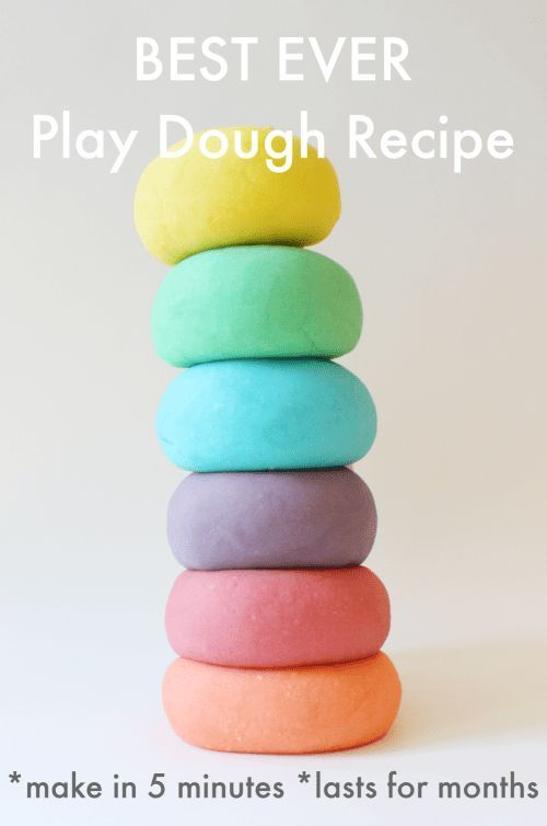 BEST PLAY DOUGH EVER!