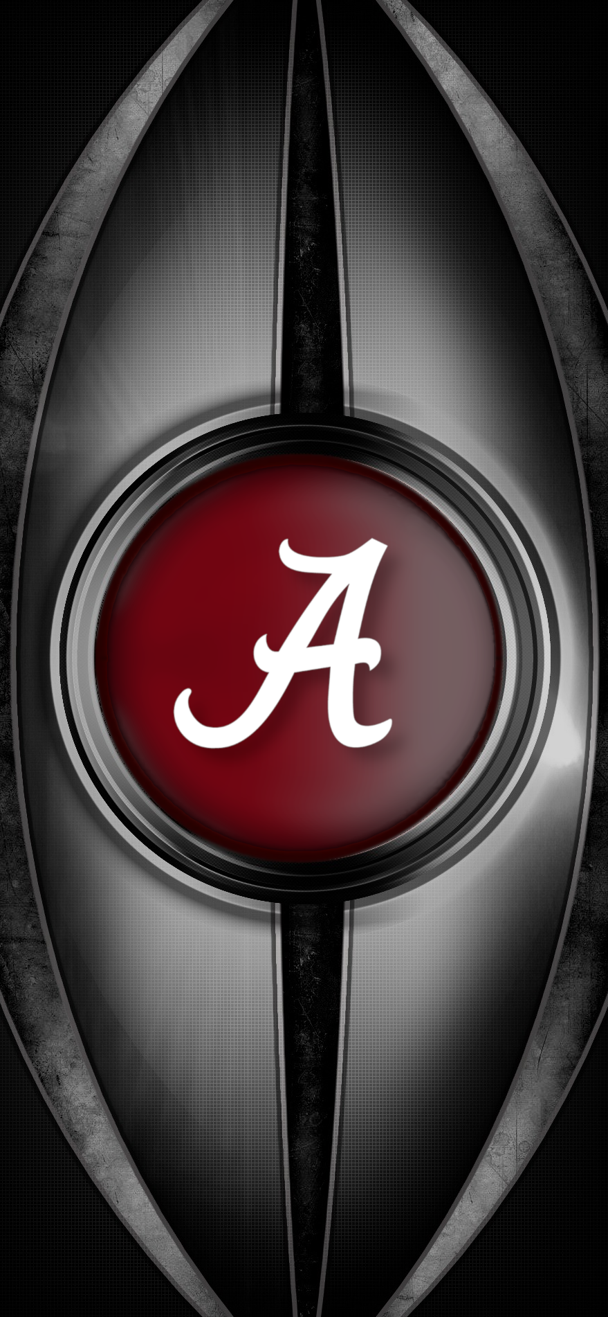 Metal2 Alabama Crimson Tide Football Wallpaper Alabama Wallpaper Crimson Tide Football