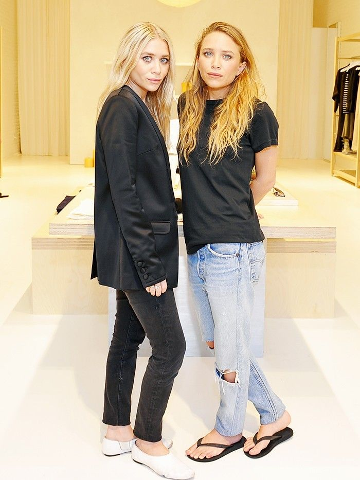 Mary Kate And Ashley Olsen On Their Elizabeth And James Store Opening Via Whowhatwear
