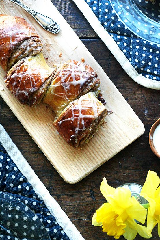 Cinnamon and Brown Sugar Pull-Apart Bread | Alexandra's Kitchen