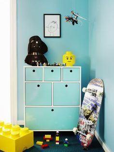 Cómodas de colores. | Decorar tu casa es facilisimo.com