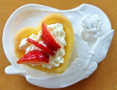 いちご バタフライ 蝶々 ちょうちょ イチゴのショートケーキ 苺 How to cut strawberry butterfly