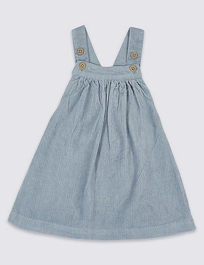 2ff0b77bc Pure Cotton Cord Pinny Dress