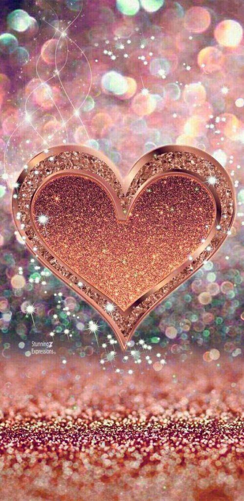 Color Palette Gold Heart Wallpaper Beautiful Nature Wallpaper Glitter Wallpaper Beautiful cute rose gold cute wallpaper