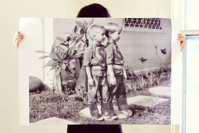Blueprint copies for DIY family photo posters DIY Projects - copy what is blueprint paper called