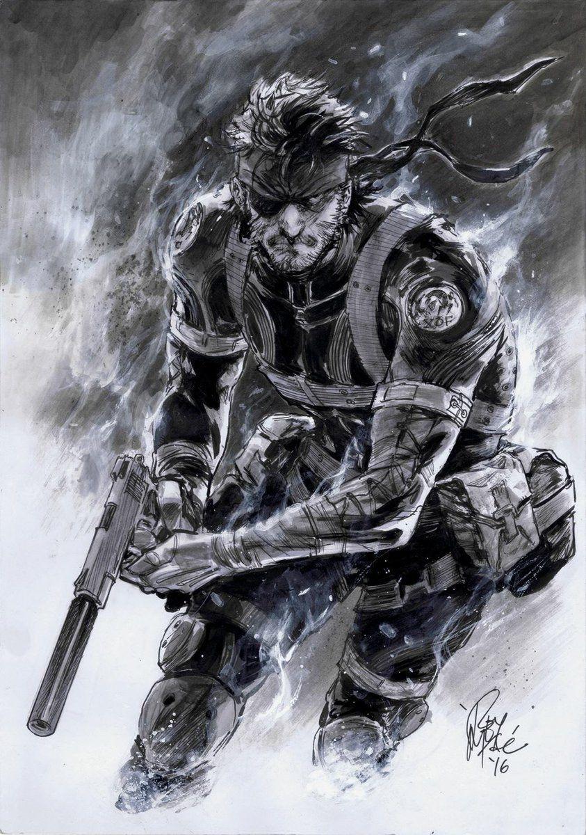 Metal Gear Solid Snake Fanart