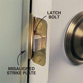 How To Repair Interior Doors Door Repair Doors Interior Repair