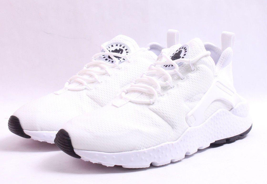 e120944691a00 Nike W Air Huarache Run Ultra   819151 102 White   Black Women SZ 6 ...