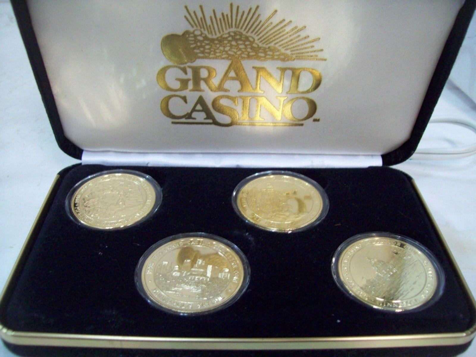 Grand Casino 1998-1999 Collector/'s Coin Set
