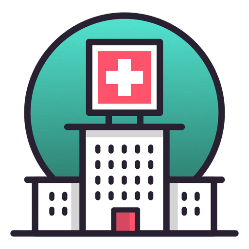 Pin By Andrionde On Illustration Building Icon Hospital Medical Marketing