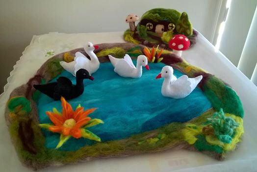 Pond/Lake for Water Birds/Animals by Cheoco on Etsy