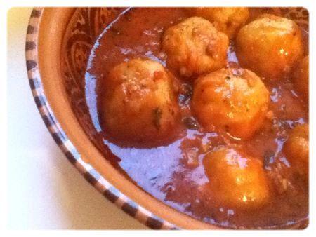 ★☆ Tikourbabine (boulettes kabyles) ☆★ – La cuisine dOum Hanae