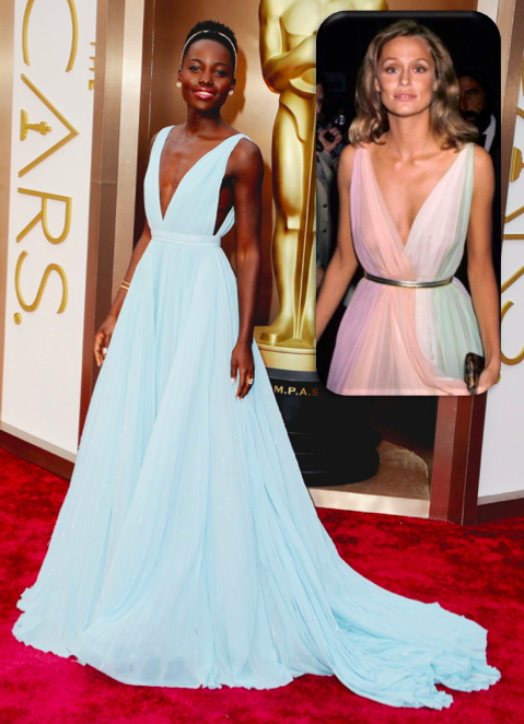 Lupita and Lauren Hutton | Oscar Fashion Round-Up | Covet Living