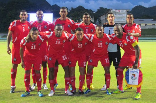 Panama North Central America And Caribbean Squadra Di Calcio Calcio Squadra