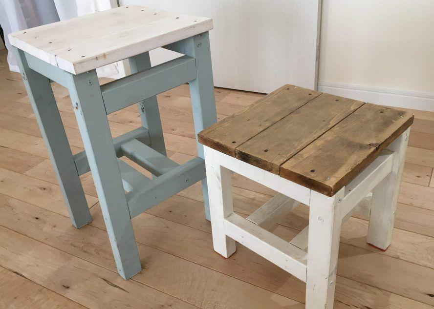 スツールをdiy お子様の踏み台やミニテーブル キッチンやダイニング