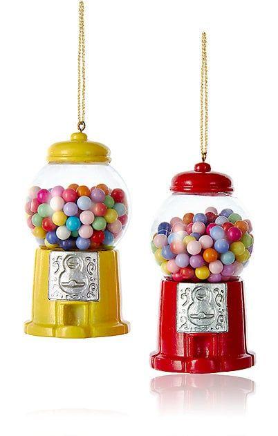 Kurt S Adler Xmas Gumball Machine Ornament - Art Glasses & Vases ...