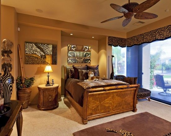 African Inspired Bedroom Use Warm Colours To Create This Look Amazing African Bedroom Designs