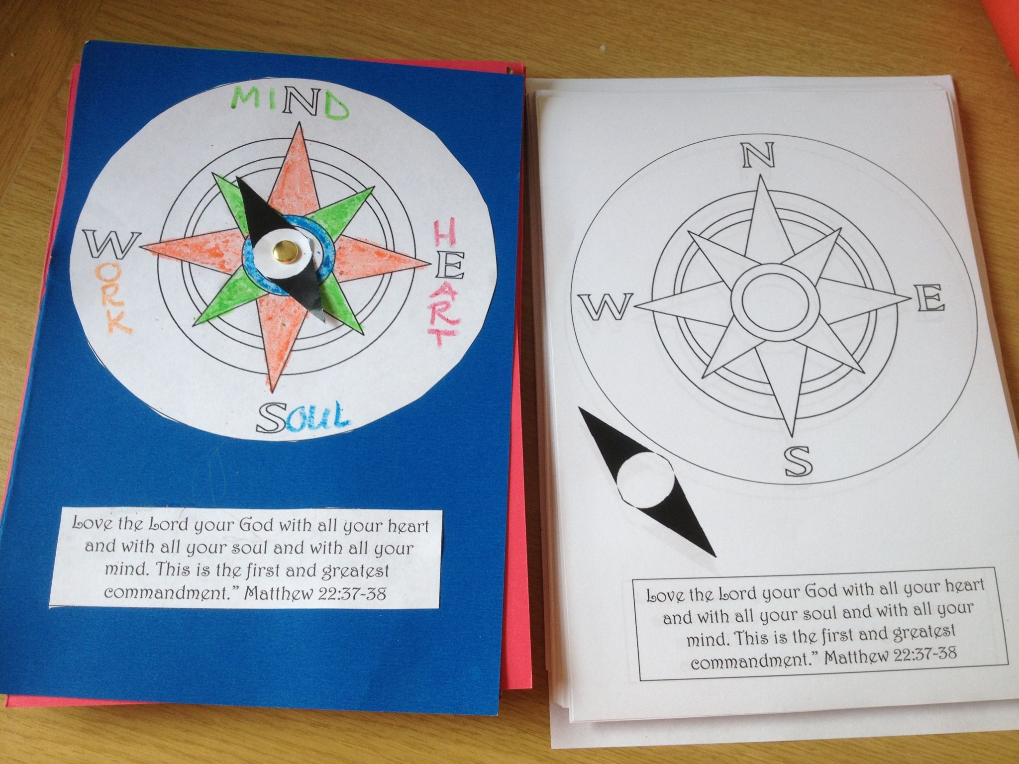 Compass For Our Treasure Hunt Vbs Or Holiday Club Teaches