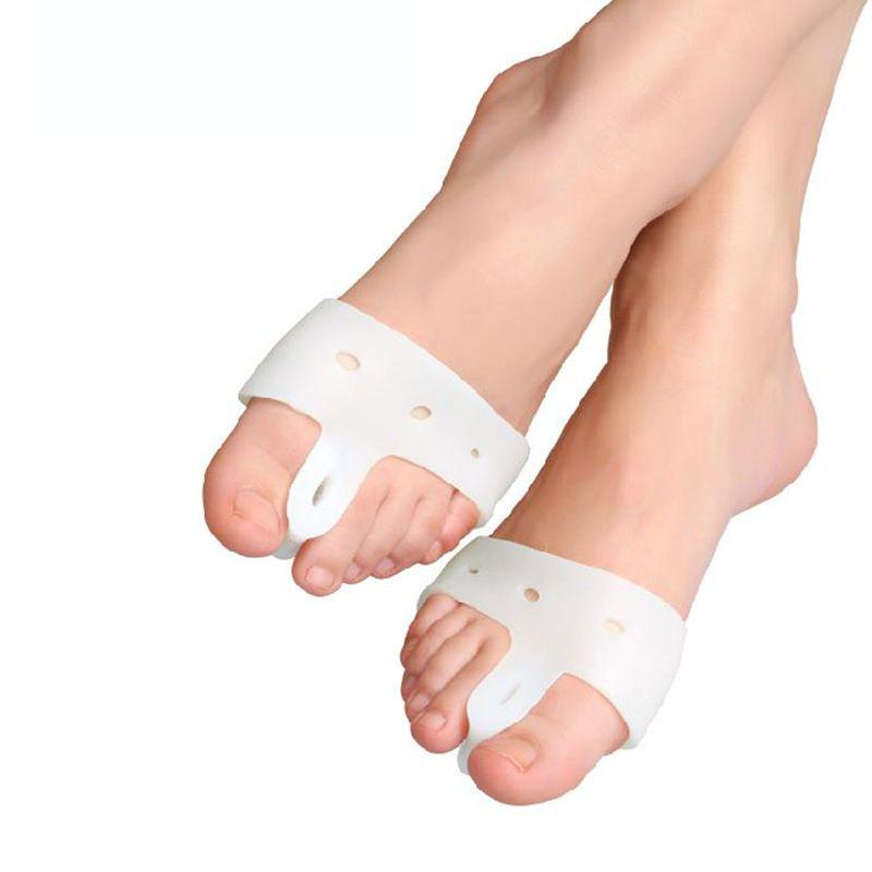 패션 1 짝 발 관리 특수 외반 모지 비시 엄지 정형 외과 중괄호 해결하기 데일리 실리콘 발가락 큰 뼈