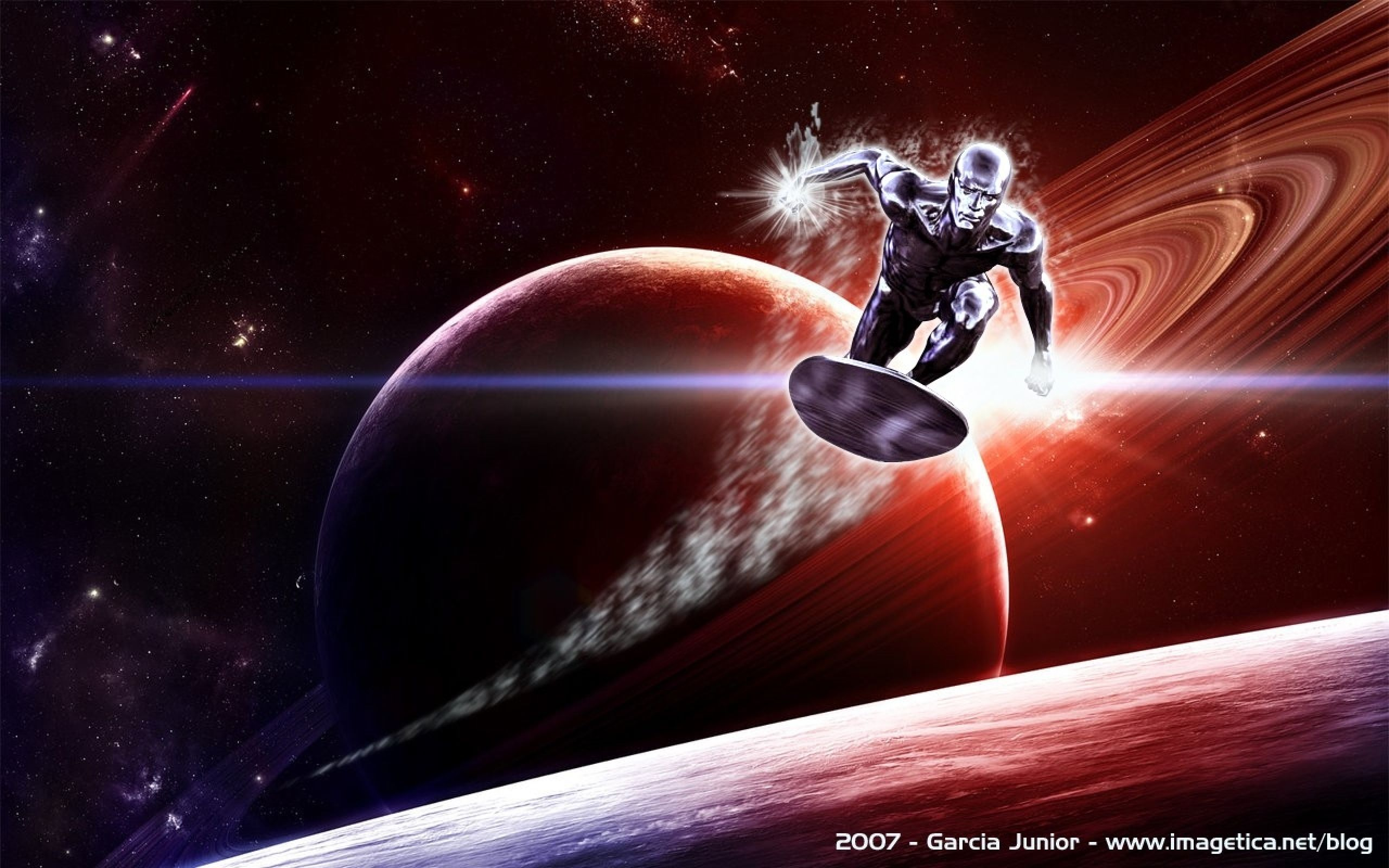 2 photo of 60 for silver surfer artwork