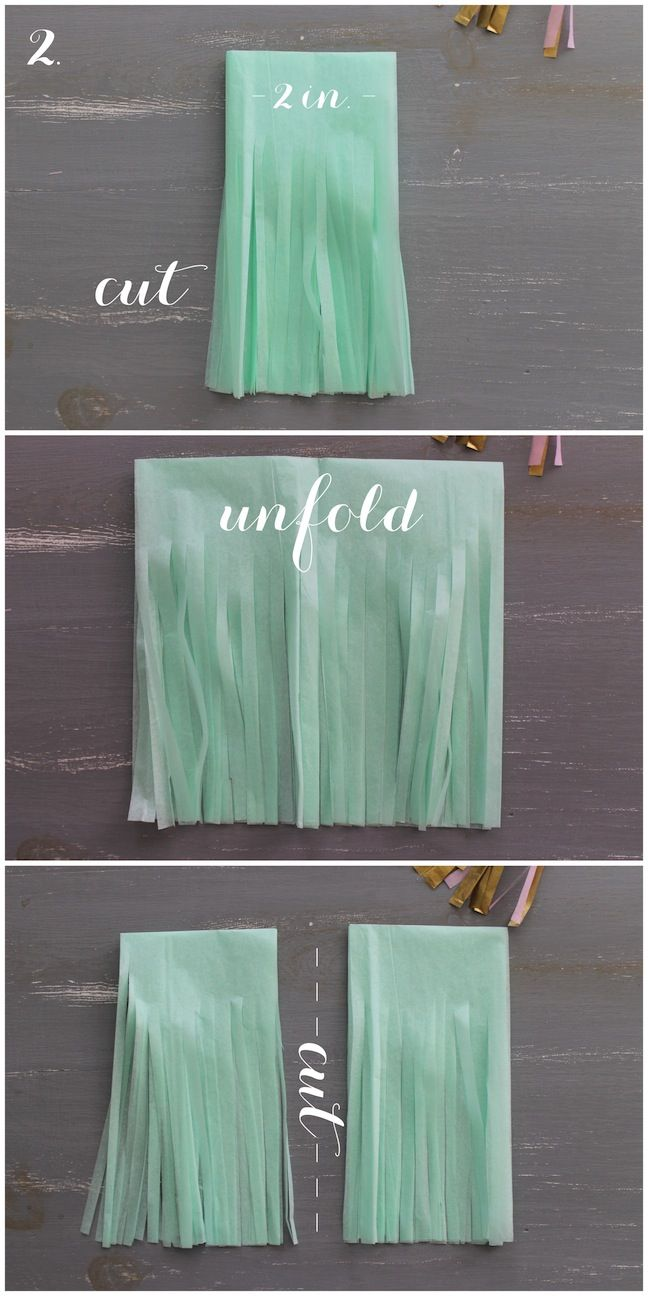 Tissue paper tassel tutorial - 17 Best Images About Gender Reveal For Friends On Pinterest Gender Reveal Invitations Stud Muffin And Mexican Fiesta