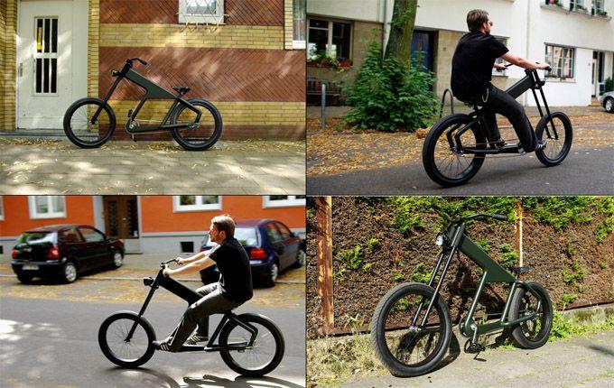 Shocker bikes from Germany, notic the headlight