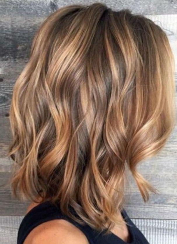 haarfarbe hair pinterest haar ideen braune haare und mittellange haare. Black Bedroom Furniture Sets. Home Design Ideas