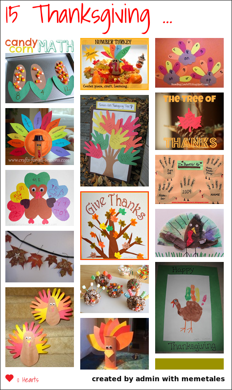 Thanksgiving is a great time to teach kids about gratitude. We have gathered 15 ideas to use with your kiddos over the next few weeks...