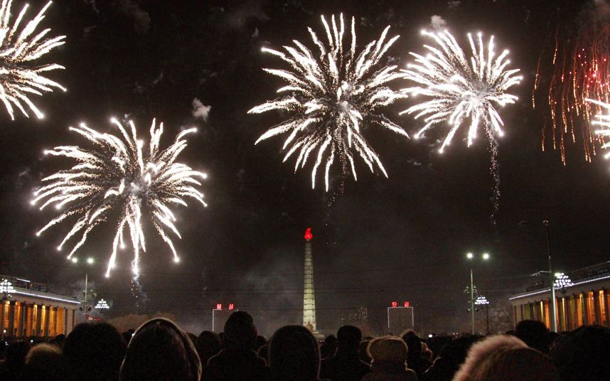 New Year 2015 in pictures Fireworks and celebrations